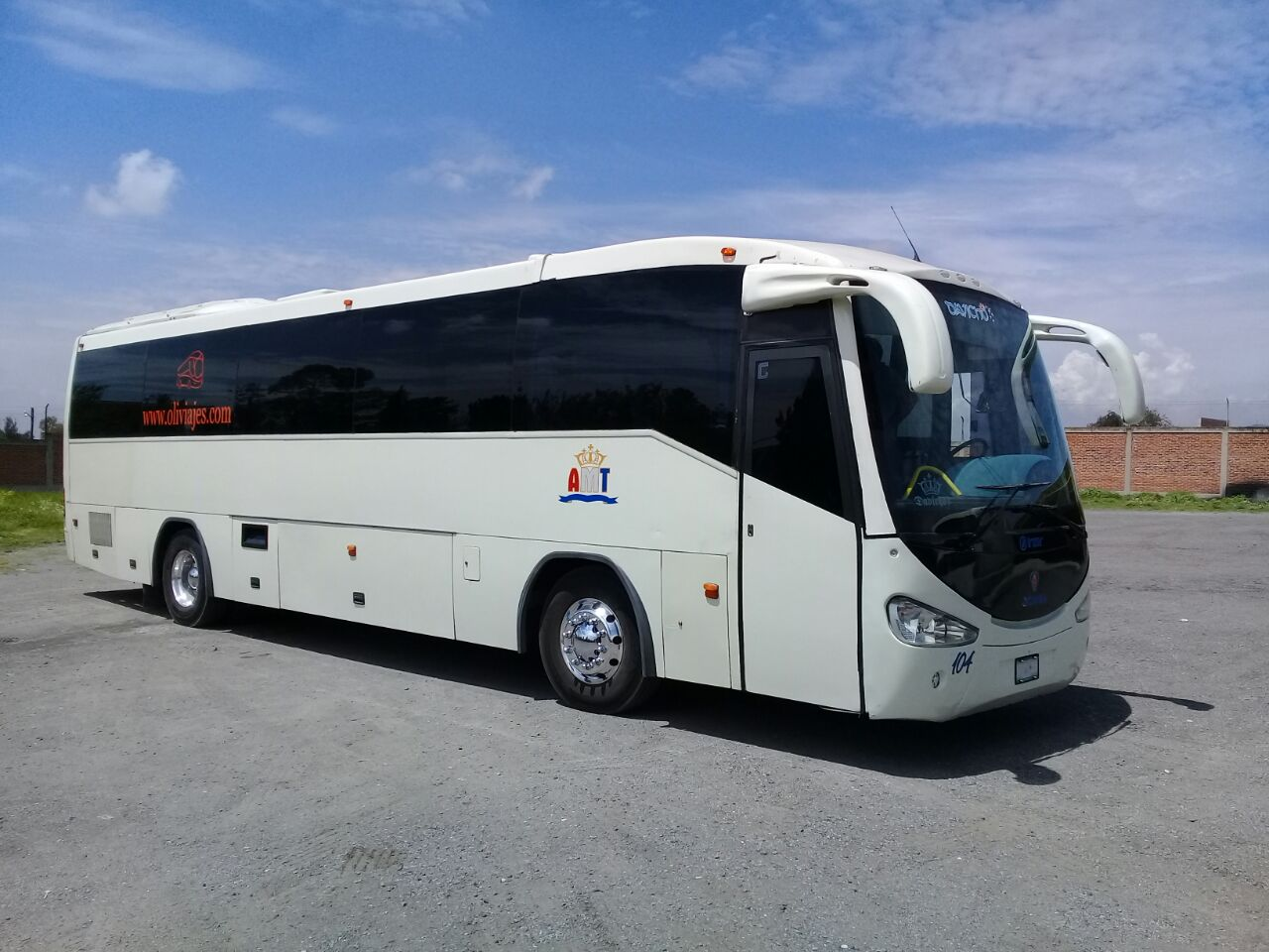 Oliviajes, Renta de autobuses de turismo
